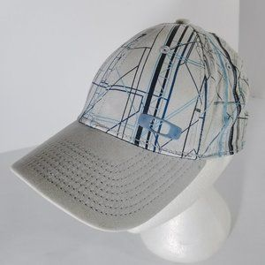 Oakley Lines All-Over Grey & Blue A-Flex Hat